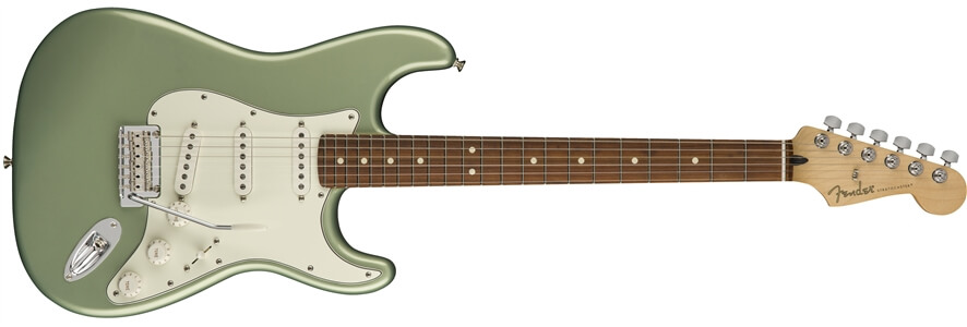 líneas Fender México y USA: Stratocaster Player