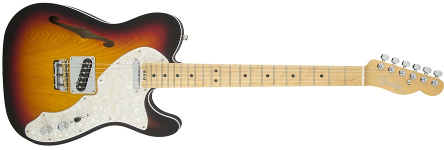 líneas Fender México y USA:American Elite Thinline