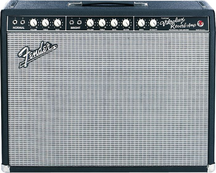 Amplis classiques: Fender Vibrolux Reverb Blackface Image