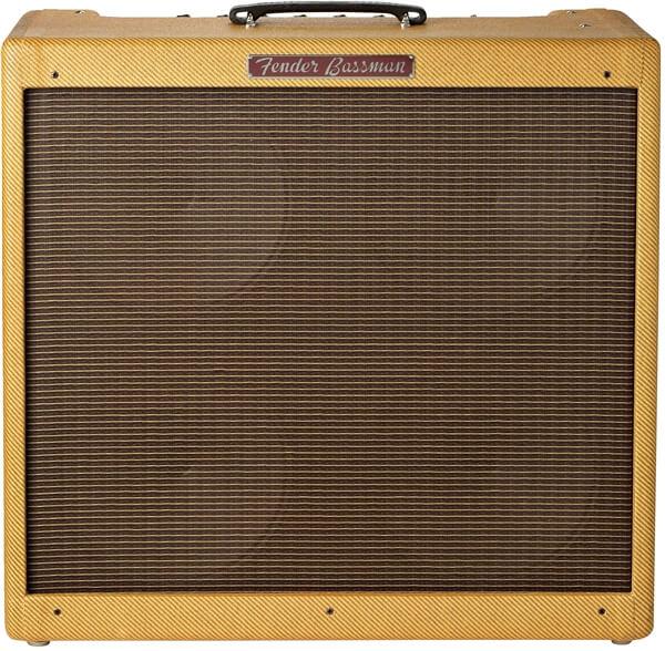 Fotografía del Fender Bassman Tweed 4x10