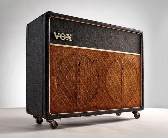 Image d'un amplificateur Vox AC30 vintage